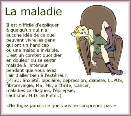 LA MALADIE dans HANDICAP maladie