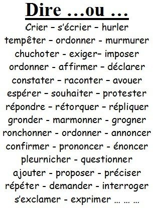 Remplacer le verbe être